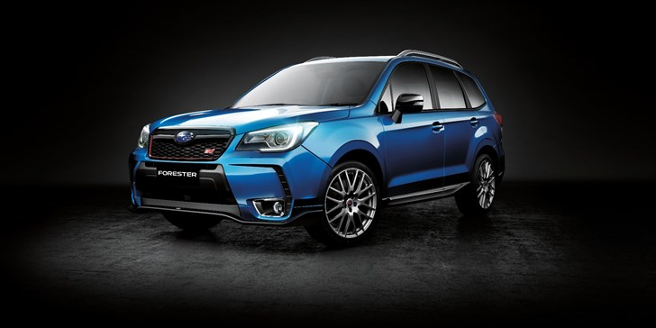 Subaru's Forester tS Lands In June