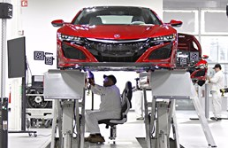 First 2017 Honda NSX Rolls Off Production Line