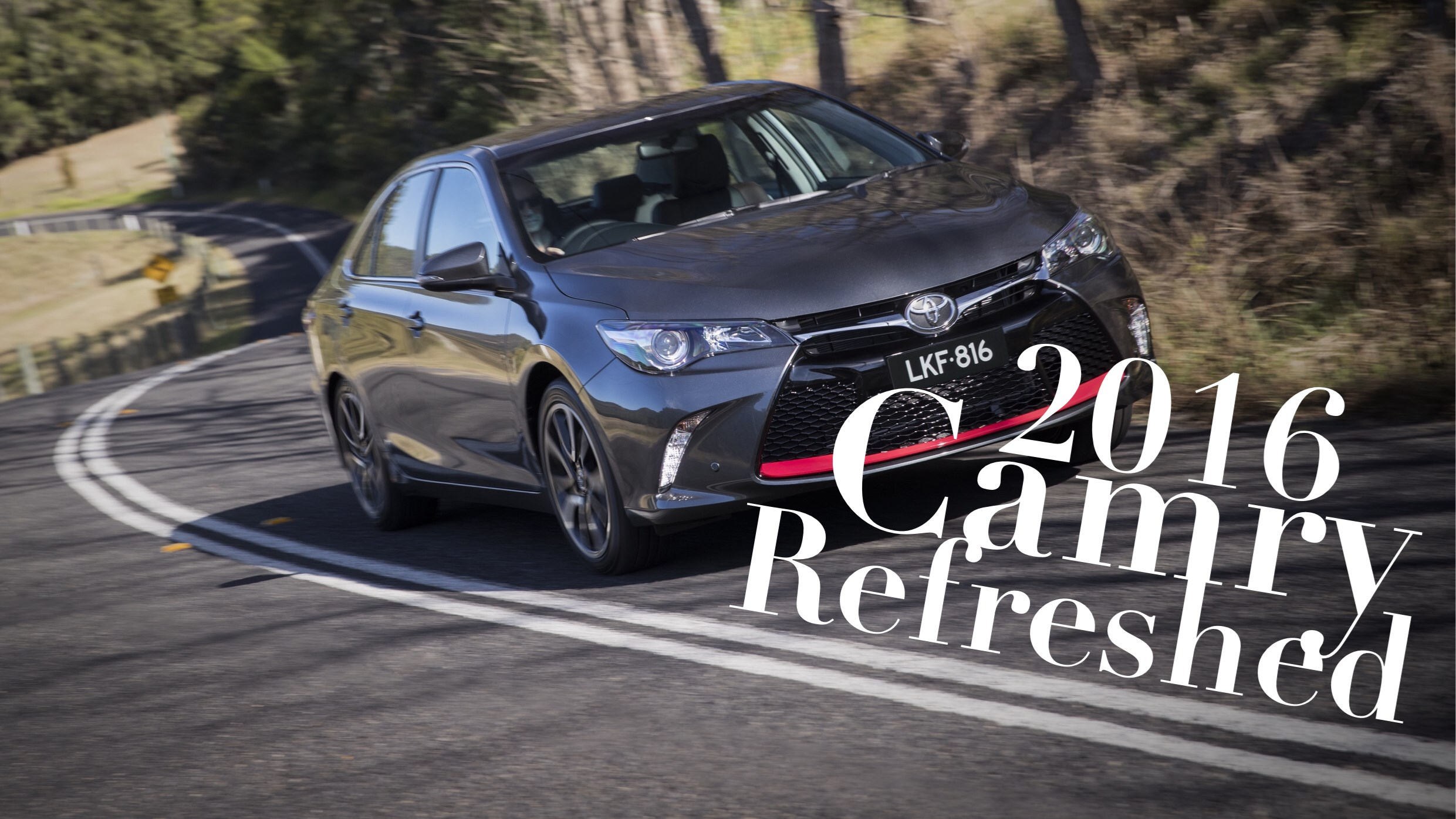 Refreshed Toyota Camry Range On-Sale In June