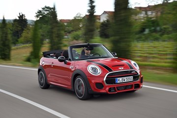 New MINI John Cooper Works Convertible Starts At $54,900
