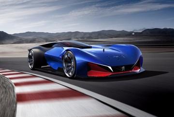 Peugeot's Futuristic L500 R HYbrid Concept