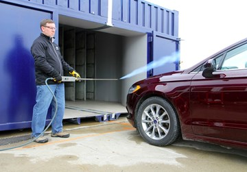 Ford's New Toy, A Portable Wind Tunnel