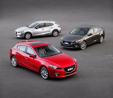 Mazda3 Exceeds 5 Million Units