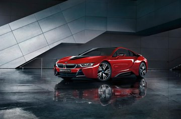 BMW i8 Protronic Red Edition Heads To Japan