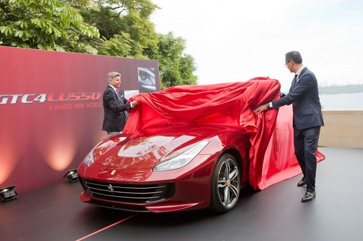 2016 Ferrari GTC4 Lusso Australian Launch
