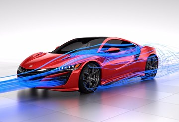 Honda Reveals Its NSX's 'Total Airflow Management' Concept