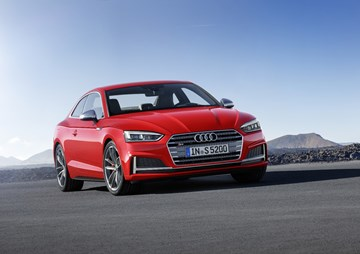 2017 Audi A5 Coupe, S5 Coupe Revealed