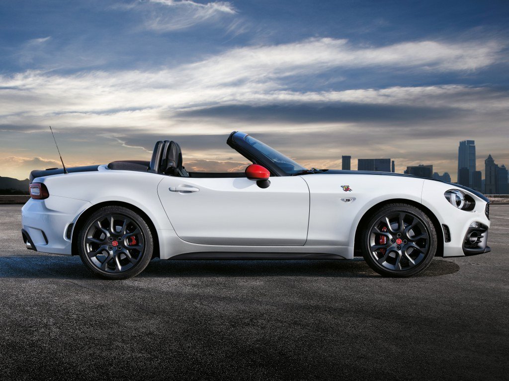 news abarth 124 spider edges nearer. Black Bedroom Furniture Sets. Home Design Ideas