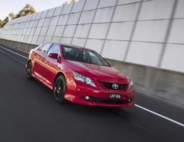 Toyota Aurion Gets Feature Upgrades, Sporty Tweaks