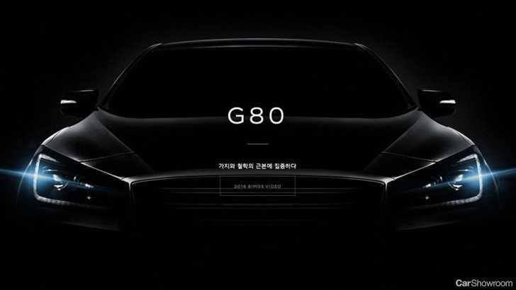 news genesis unveils meaner g80 sport. Black Bedroom Furniture Sets. Home Design Ideas