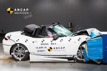 Mazda MX-5 Takes Full 5-Star ANCAP Safety Score