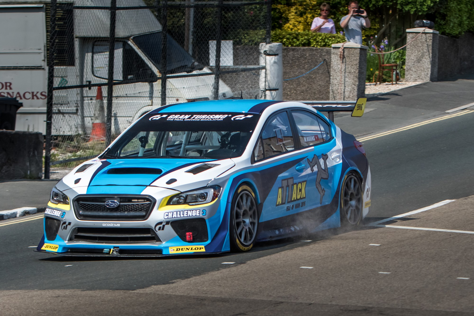 News Subaru Wrx Sti Time Attack Breaks Isle Of Man Tt