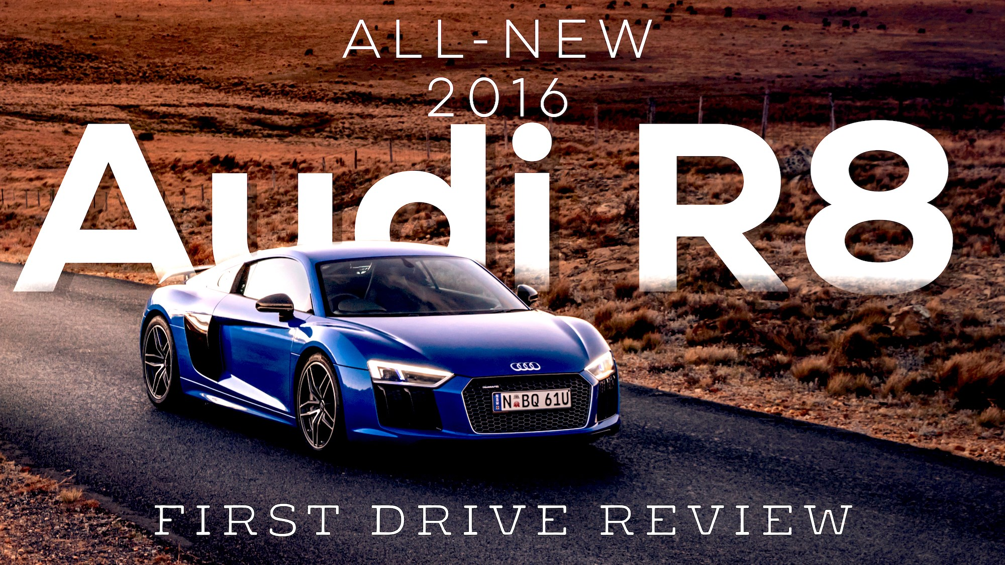 2016 Audi R8 - First Drive Review