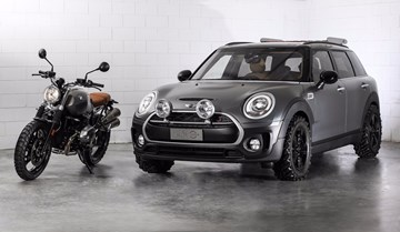 MINI Reveals Clubman All4 Scrambler One-Off