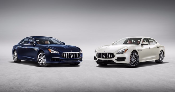 Maserati Gives Quattroporte New Look, Tech, Trim Levels For 2017