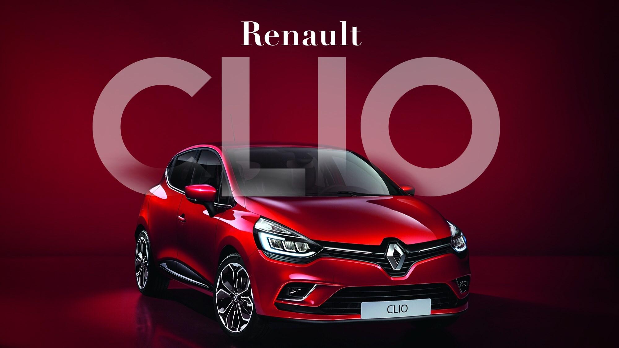 Renault's Revised 2016 Clio Unveiled