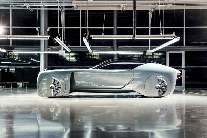 Rolls Royce's EX103 Concept Is Their Vision Of Luxury