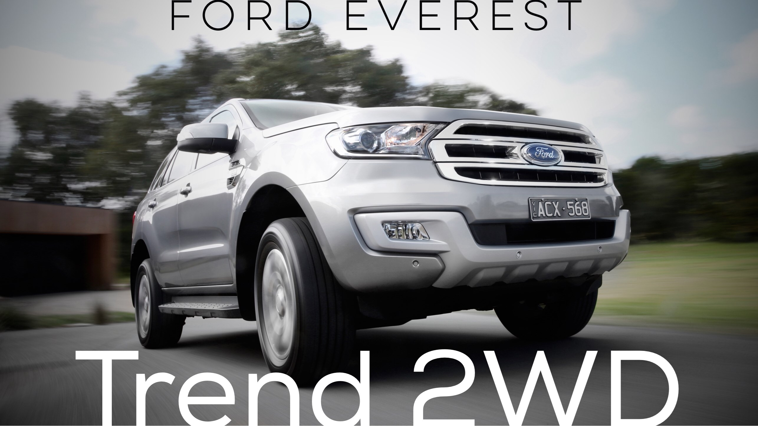 Ford Adds Everest Trend RWD To Local Line-Up