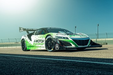 Honda's EV Racing NSX Concept To Scale Pikes Peak