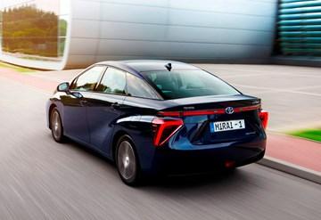 2015 Toyota Mirai - Hydrogen Fuel Cell
