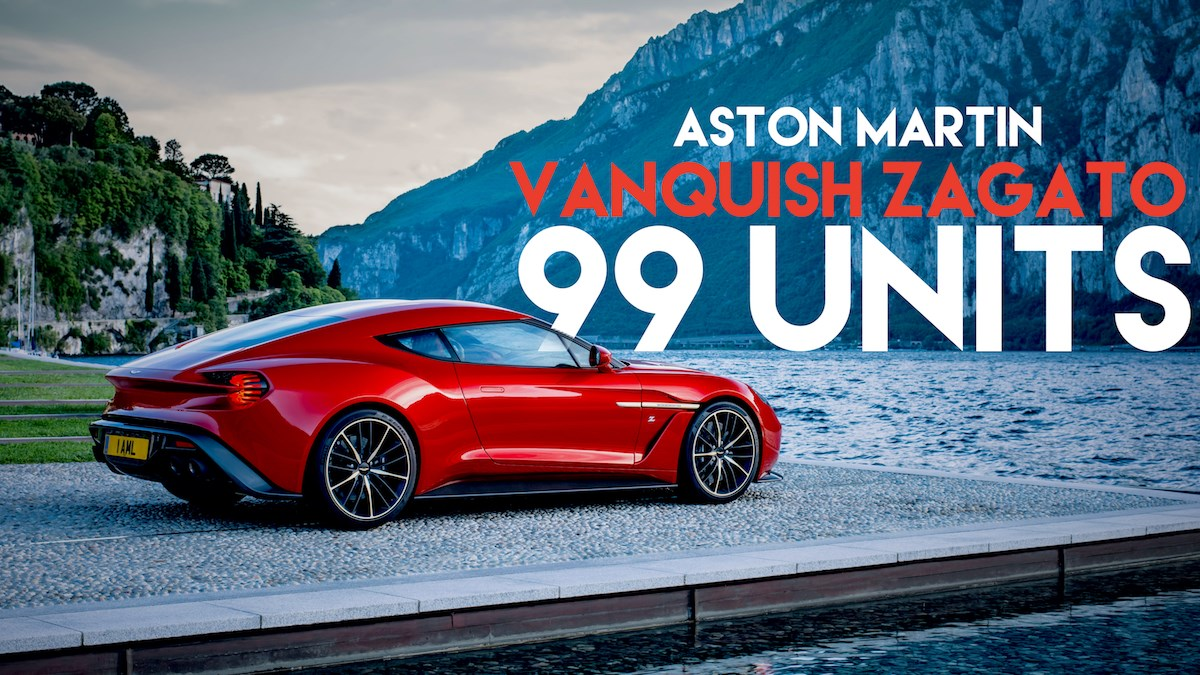Aston Martin To Produce 99 Vanquish Zagato Coupes