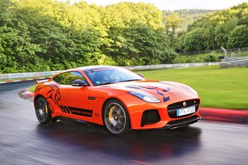 Jaguar Offers Nurburgring Laps In F-Type SVR