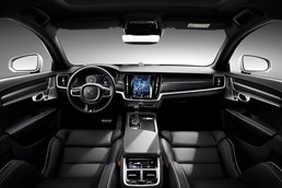 Volvo Reveals Sportier S90 & V90 In R-Design Trim