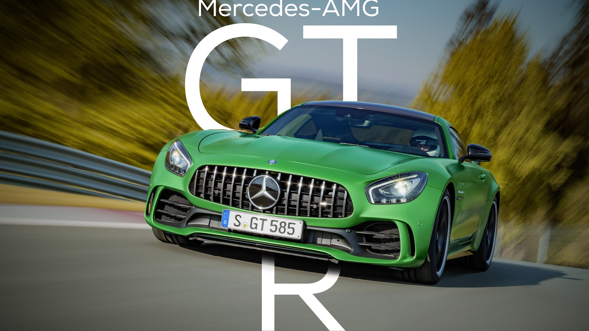 Mercedes-AMG GT R Gets Full Debut At Goodwood