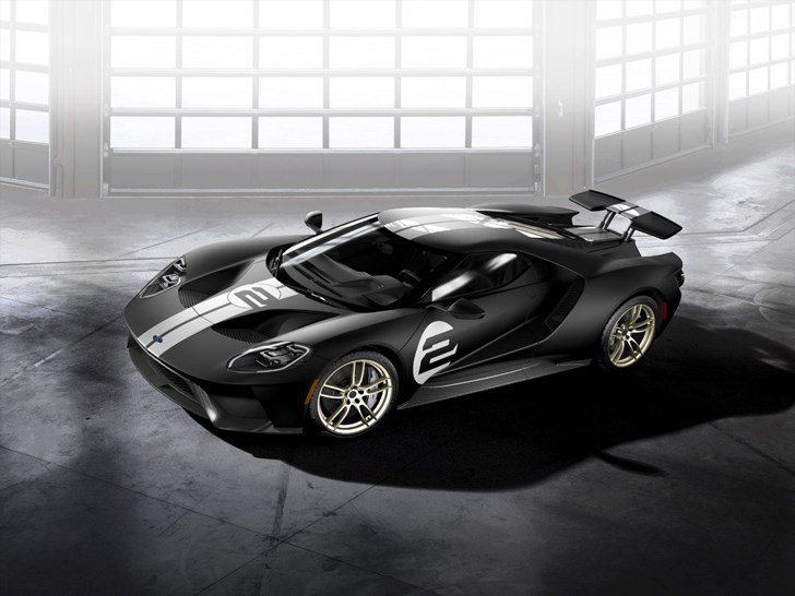 Ford Announces GT '66 Heritage Edition Supercar