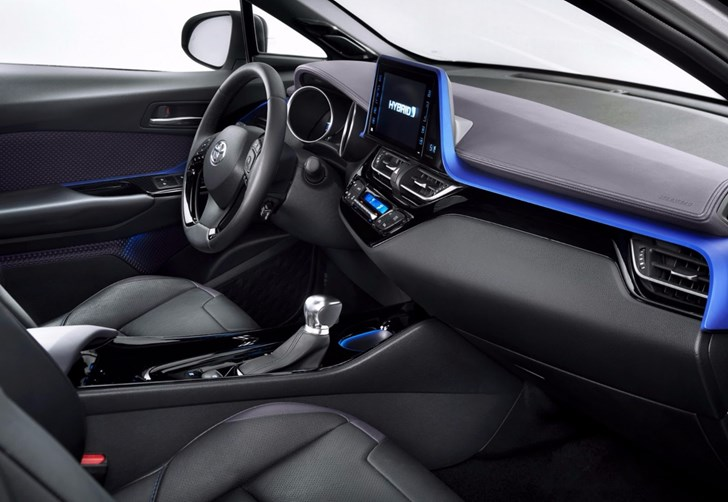 Toyota Gives First Look At All-New C-HR Interior