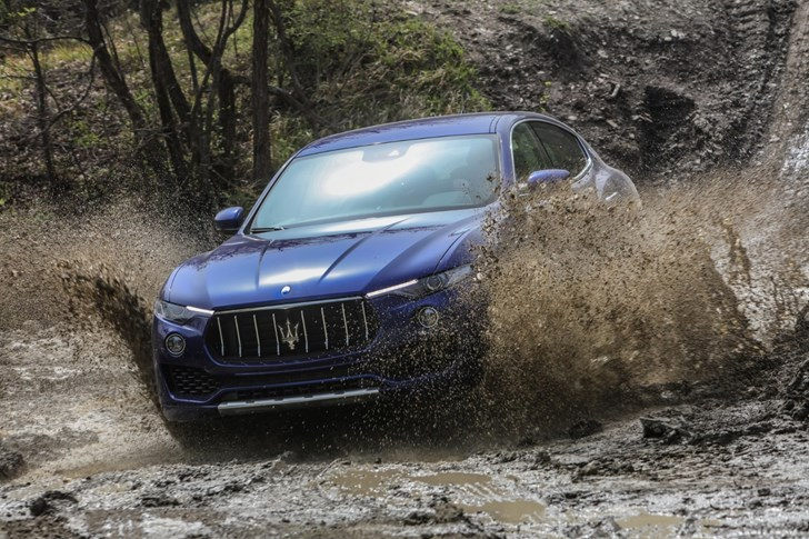 2016 Maserati Levante SUV Previewed In Australia