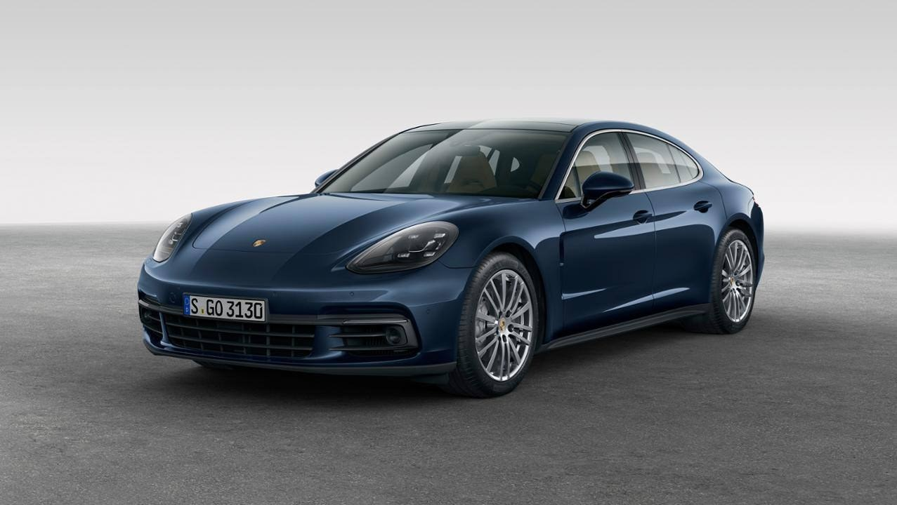 Porsche Unveils All-New Panamera In Berlin Thumbnail