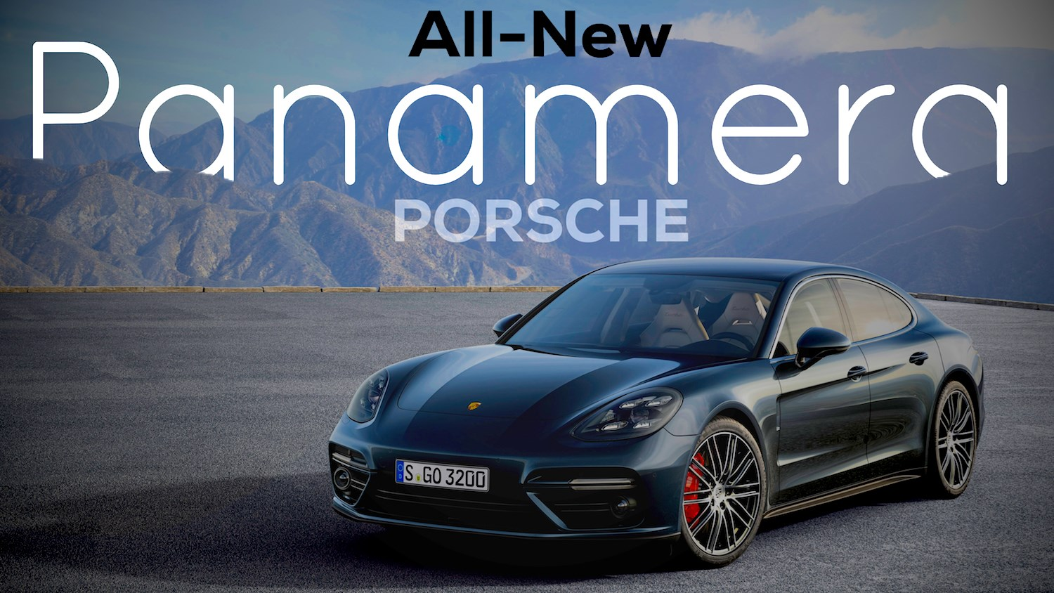 Porsche Unveils All-New Panamera In Berlin