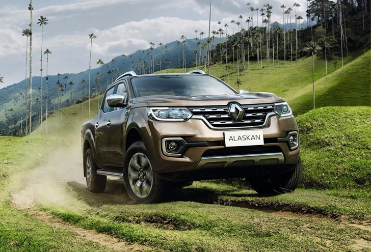 Renault Unveils All-New Alaskan Pick-Up
