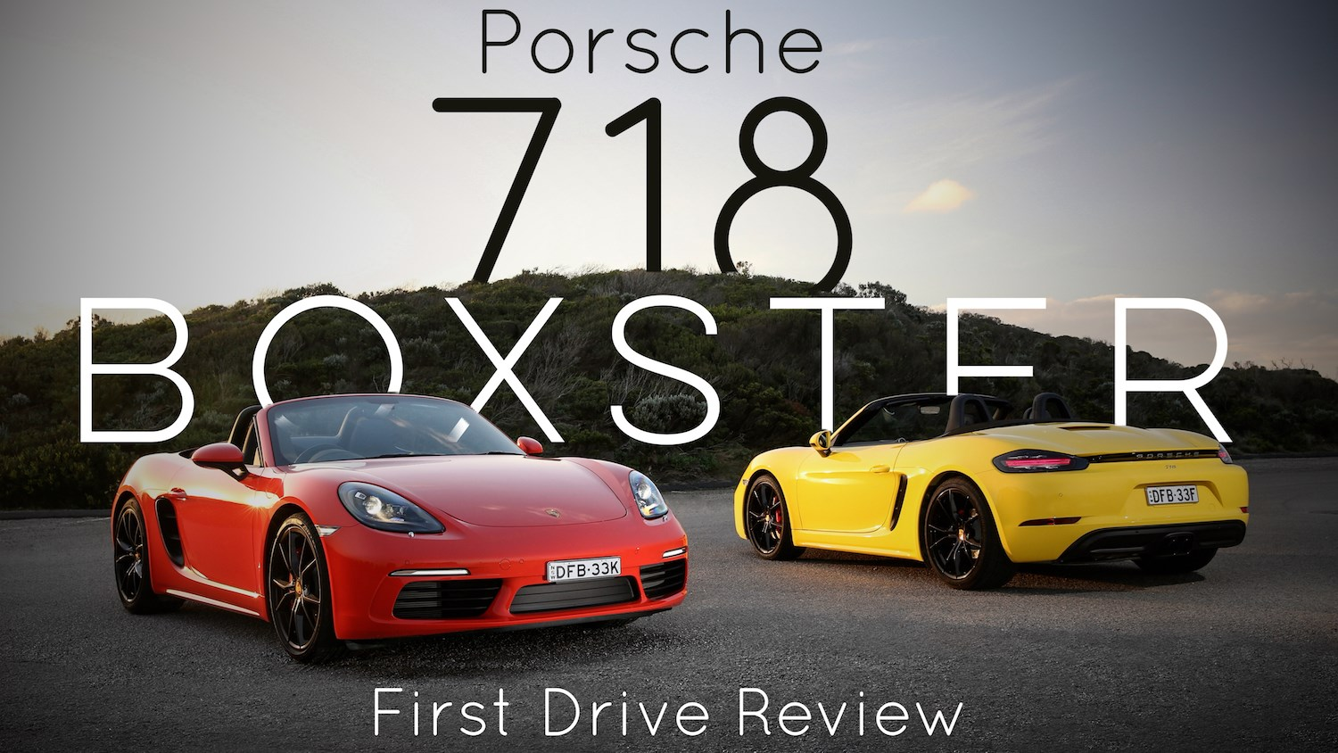 2016 Porsche 718 Boxster - First Drive Review