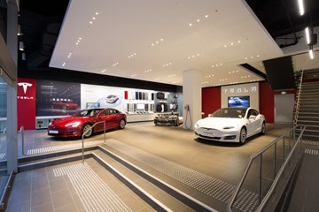 Tesla Opens Flagship Store In Central Sydney