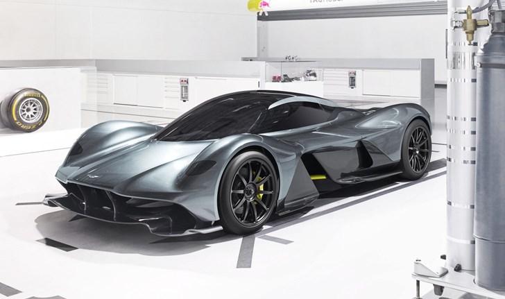 Aston Martin, Red Bull Unveils AM-RB 001 Hypercar