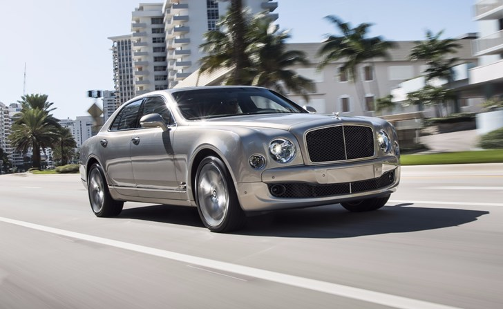 Bentley's Next Mulsanne Could Go Fully Electric