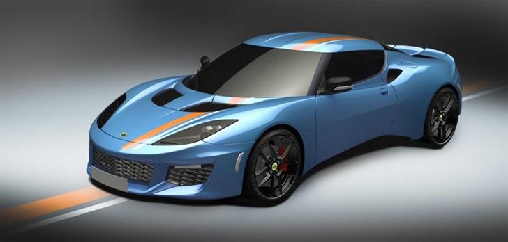 Lotus Evora 400 Orange & Black Edition
