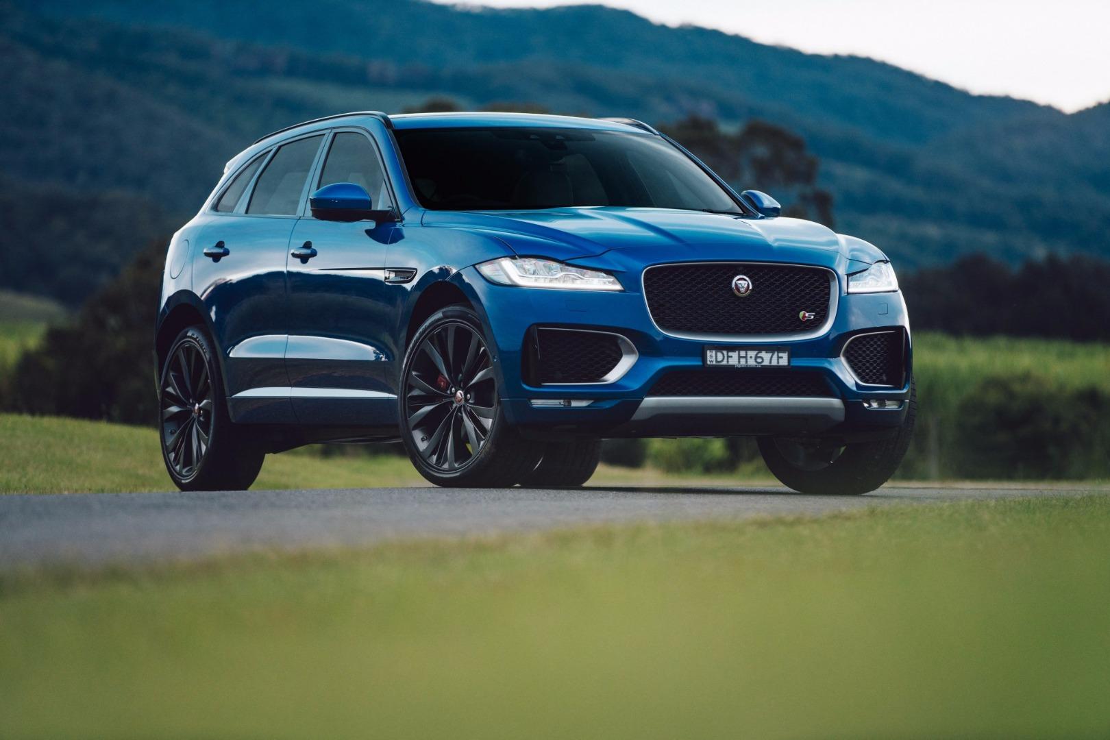News - Jaguar F-Pace Arrives In Australia Starting At $74,340