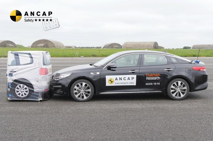 ANCAP Hands Kia Optima Full 5-Star Safety Rating