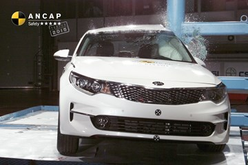 ANCAP Hands Kia Optima Full 5-Star Safety Rating
