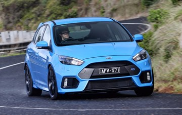 2016 Ford Focus RS - Australia