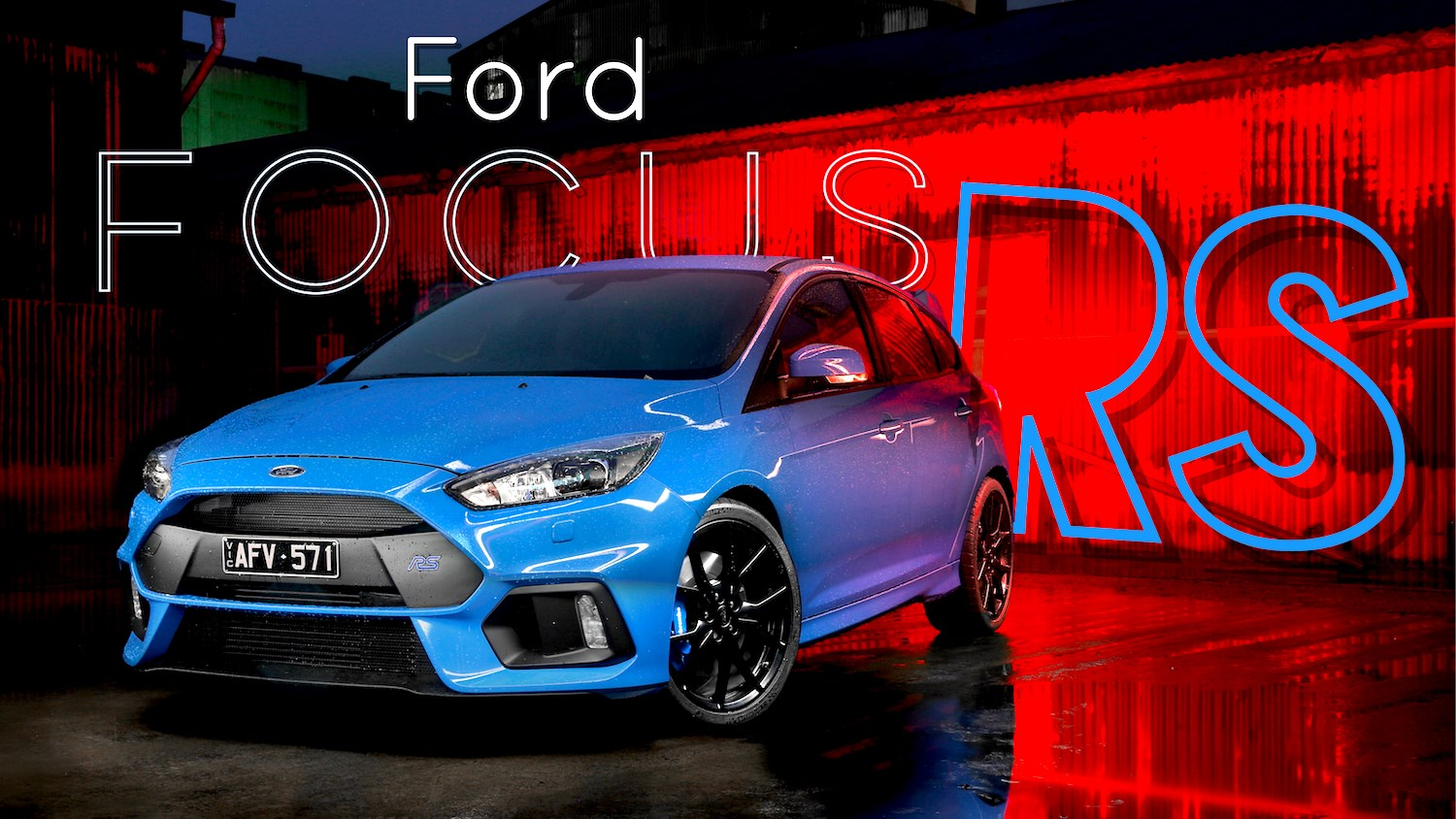 All-New 257kW Ford Focus RS Storms Into Australia