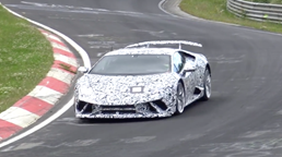 Lamborghini Huracan Superleggera Spotted Testing