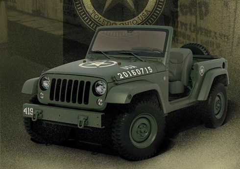 Jeep Salutes Its Roots With WWII-Themed Wrangler