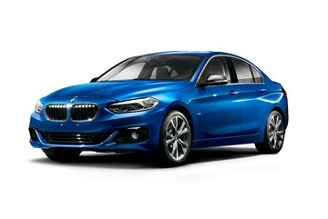 BMW Unveils China-Only 1 Series Sedan