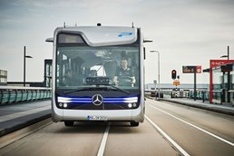 Mercedes-Benz Shows Off Self-Driving Future Bus