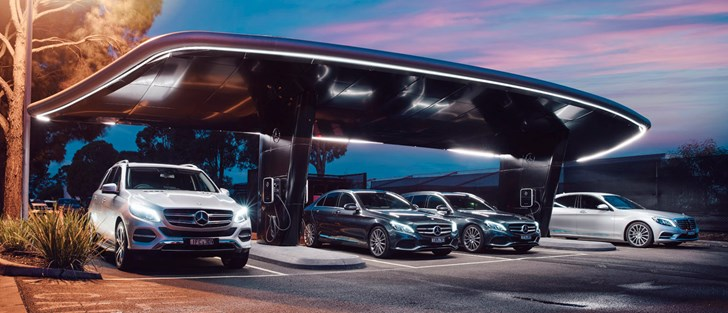Mercedes-Benz Australia Launches Three New Plug-in Hybrids