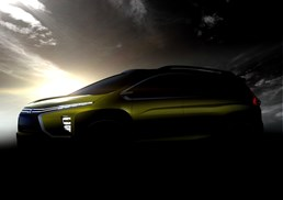 Mitsubishi Teases New 'Crossover MPV' Concept